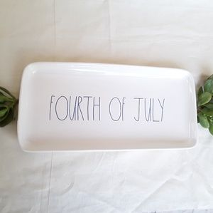NWT Rae Dunn FOURTH OF JULY Platter